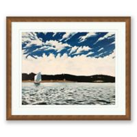 Hagg Lake 23.5-Inch x 19.5-Inch Framed Wall Art