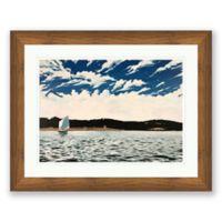 Hagg Lake 40-Inch x 32-Inch Framed Wall Art