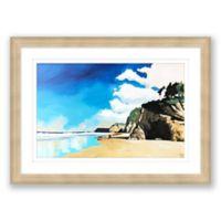 Hug Point 17.5-Inch x 24-Inch Framed Print Wall Art