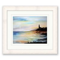 Night Light 14-Inch x 16-Inch Framed Print Wall Art