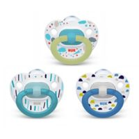 NUK® Boy 0-6M 3-Pack Orthodontic Pacifiers