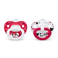 NUK® Disney® Minnie Mouse 6-18M 2-Pack Orthodontic Pacifiers