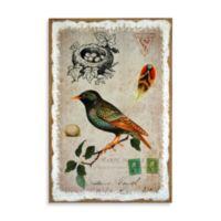 Sparrow Postcard Wall Art
