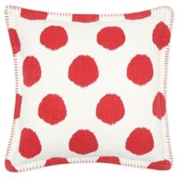 Carol And Frank™ Square Throw Pillow in Tomato