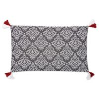 Carol And Frank™ Oblong Throw Pillow in Coal