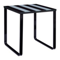 Southern Enterprises Torbet Side Table in Black