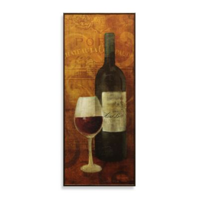 Vin Rouge Blue Wine Wall Art