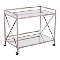Southern Enterprises© Maxton Bar Cart in Silver
