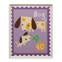 Dog Stamp Wall Art