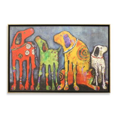 buy dog wall art from bed bath & beyond