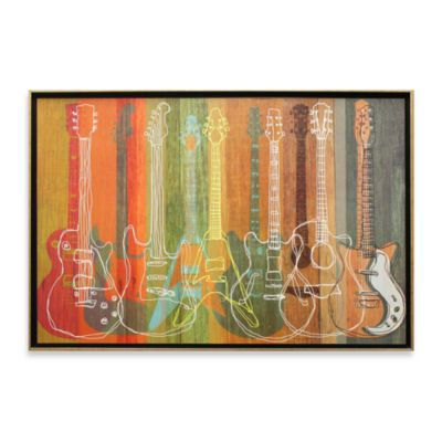 Guitar Heritage Wall Art