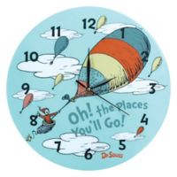 Trend Lab™ Dr. Seuss™ Oh the Places You'll Go Wall Clock