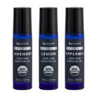 SpaRoom® 3-Pack Organic Essential Oils