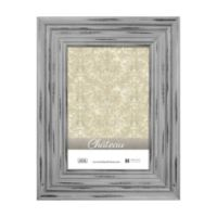 Chateau 4-Inch x 6-Inch Picture Frame in Distressed Grey