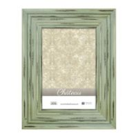 Chateau 4-Inch x 6-Inch Picture Frame in Distressed Green