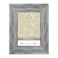 Chateau 5-Inch x 7-Inch Picture Frame in Distressed Grey