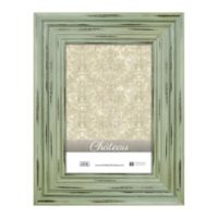 Chateau 8-Inch x 10-Inch Picture Frame in Distressed Green