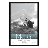 Aluminum 11-Inch x 17-Inch Picture Frame in Black