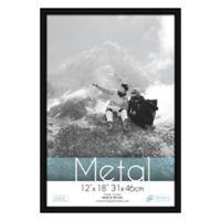 Aluminum 12-Inch x 18-Inch Picture Frame in Black