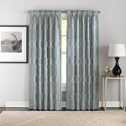 Bellini Pinch Pleat Window Curtain Panels Bed Bath Beyond