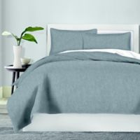 Canadian Living Chambray King Duvet Cover in Charcoal