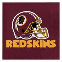 NFL 48-Pack Washington Redskins Luncheon Napkins in Red