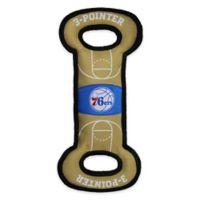 NBA Philadelphia 76ers Pet Basketball Court Tug Toy