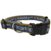 MLB Milwaukee Brewers Extra Large Pet Collar