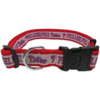 MLB Philadelphia Phillies Extra Large Pet Collar