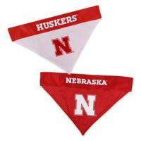 University of Nebraska Large/Extra Large Reversible Pet Collar Bandana