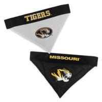 University of Missouri Large/Extra Large Reversible Pet Collar Bandana