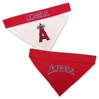 MLB Los Angeles Angels Small/Medium Reversible Pet Collar Bandana