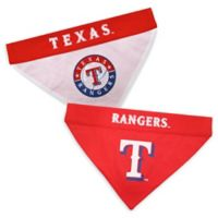 MLB Texas Rangers Large/Extra Large Reversible Pet Collar Bandana