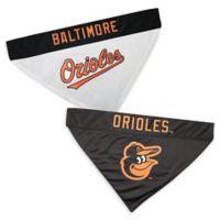 MLB Baltimore Orioles Large/Extra Large Reversible Pet Collar Bandana
