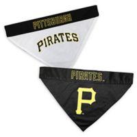 MLB Pittsburgh Pirates Large/Extra Large Reversible Pet Collar Bandana