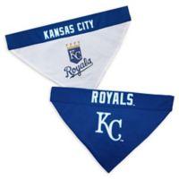 MLB Kansas City Royals Large/Extra Large Reversible Pet Collar Bandana