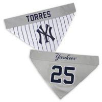 MLB New York Yankees Gleyber Torres Large/Extra Large Reversible Pet Collar Bandana