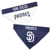 MLB San Diego Padres Large/Extra Large Reversible Pet Collar Bandana