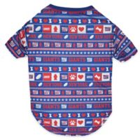 NFL New York Giants Large Ugly Pet Tee