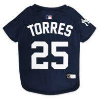 MLB New York Yankees Extra-Small Pet T-Shirt