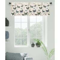 Laural Home Flutters and Ferns Rod Pocket Window Valance