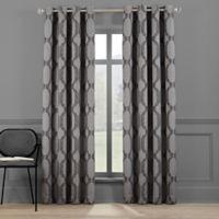 Paxton 108-Inch Grommet Room Darkening Window Curtain Panel in Dark Grey