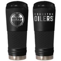 NHL Edmonton Oilers 24 oz. Powder Coated STEALTH Draft Tumbler