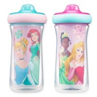 The First Years™ 2-Pack 9 oz. Disney® Princess Insulated Spout Sippy Cups