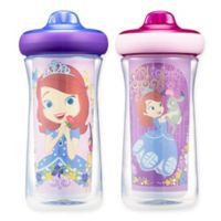 The First Years™ 2-Pack 9 oz. Disney® Sofia the First Insulated Spout Sippy Cups