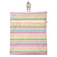 i play.® Mini-Stripe Wet/Dry Bag in White
