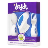 Doddl 3-Piece Child Cutlery Set in Blueberry Blue