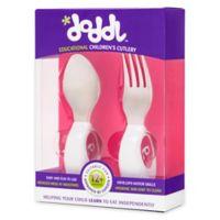 Doddl 2-Piece Child Cutlery Set Raspberry Pink