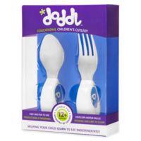 Doddl 2-Piece Child Cutlery Set in Blueberry Blue