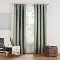 Eclipse Twilight Luna 72-Inch Rod Pocket Room Darkening Window Curtain Panel in Basil